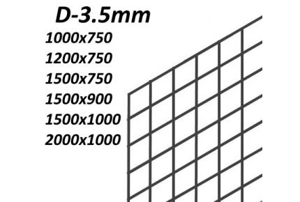 Сетка ячейка 50х50мм (D3.5мм)