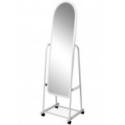 Зеркало напольное 250мм (металлик)