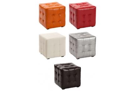 пуфик квадратный в разных цветах