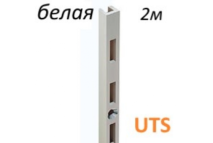 профиль-рейка 25х10  2м.белая