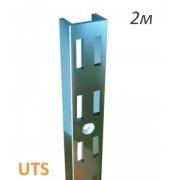 профиль-рейка 35х10  2м.хром