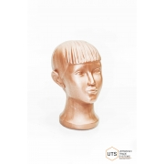 Голова детская пластик