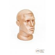 Голова мужская пластик