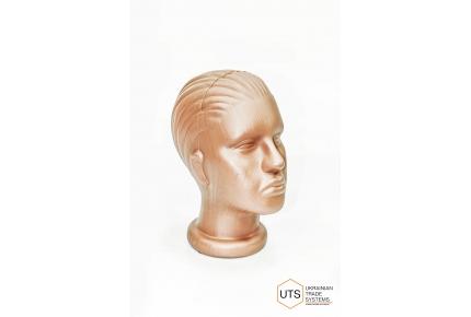 Голова женская пластик