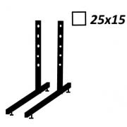 Ножки Кв 25х15 мм комплект 2 шт