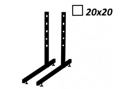 Ножки Кв 20х20мм комплект 2 шт.